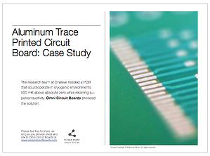 Aluminum Trace Superconductive PCB - Case Study thumbnail
