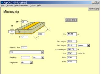 Microstrip Calc
