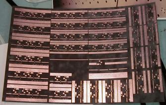 Rogers 5880 (Duroid) microwave laminate